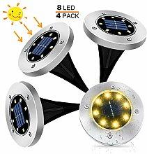 Solarlampen für Außen Garten, kdorrku 4 Stück