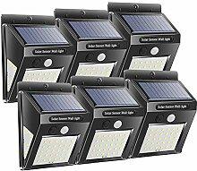Solarlampen Solarleuchten Solar-Wandleuchte