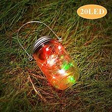 Solarleuchte Mason Jar Licht Fee Licht LED