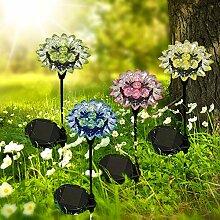 Solarleuchte Solar-Gartenleuchte Solar-Blume
