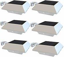 Solarleuchten Dachrinnen IP65 Wasserdichte