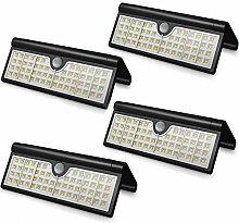 Solarleuchten für Außen, 58 LED Solarlampe