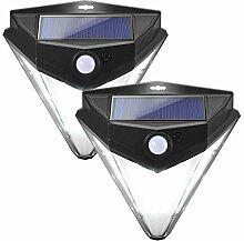 Solarleuchten für Außen,careslong 32 LED