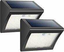 Solarleuchten für Aussen, HETP [2 Pack] 38 LED