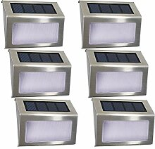 Solarleuchten Garten solar 4 LED EASTERNSTAR