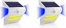 Solarleuchten mit Bewegungsmelder außen 2