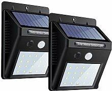 Solarleuchten mit bewegungsmelder , Solarleuchte