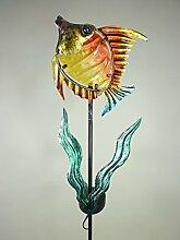 Solarleuchten Solar-Stick-Fisch-Figur