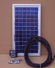 Solarstromset Max 130 Watt für Boote und Wohnmobile