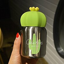soleditm Cute Edelstahl Cactus Drinkware Thermo