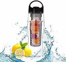 soleditm Teesieb Wasserflasche mit Filter aus