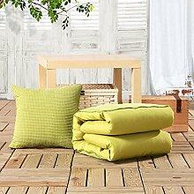 solid Color Kissen Kissen/ Kissen/Office Sofa in der Auto-Luft Konditionierung-D 50x50cm(20x20inch)