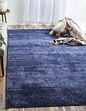Solid Del Mar Bereich Teppich, marineblau, 2 x 3