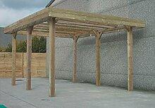 Solid Superia Carport Holz 500x 500x 400cm s7763