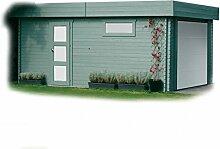 Solid Superia Garage Modern Holz 538x 358x 256cm S8935