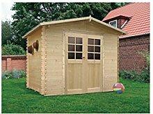 Solid Superia Gartenhaus Amberg Holz 248x 298x 218cm S8603