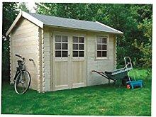 Solid Superia Gartenhaus Arles Holz 238x 358x 246cm S8319