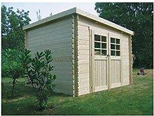 Solid Superia Gartenhaus Brest Holz 298x 298x 212cm S8215
