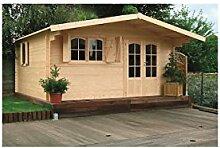 Solid Superia Gartenhaus Chamonix Holz 478x 418x 253cm S8981