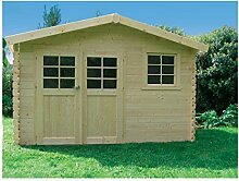 Solid Superia Gartenhaus Chimay Holz 298x 358x 239cm s8275