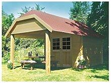 Solid Superia Gartenhaus Cork Holz 298x 298x 309cm s8507