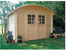 Solid Superia Gartenhaus dainville Holz 238x 298x 228cm S844