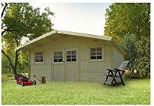 Solid Superia Gartenhaus Douai Holz 298x 508x 253cm S8309