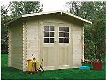 Solid Superia Gartenhaus DRESDEN Holz 198x 248x 218cm s8602
