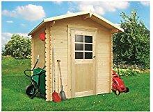 Solid Superia Gartenhaus Essen Holz 198x 198x 218cm S8601