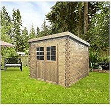 Solid Superia Gartenhaus Hof Holz 248x 248x 191cm S8606