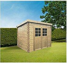 Solid Superia Gartenhaus Jena Holz 248x 298x 191cm S8607