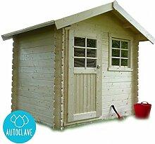 Solid Superia Gartenhaus Laval Autoclave Holz 198x 238x 239cm S815–1