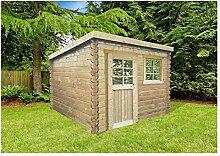 Solid Superia Gartenhaus Nevers Holz 238x 238x 212cm S8332