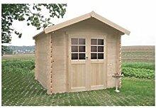Solid Superia Gartenhaus Nimes Holz 238x 238x 239cm S8311