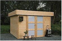 Solid Superia Gartenhaus Odense Holz 299x 299x 232cm s8323