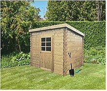 Solid Superia Gartenhaus Passau Holz 298x 198x 191cm S8604