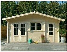 Solid Superia Gartenhaus ROSTOCK Holz 388x 568x 274cm S8970
