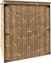 Solid Superia Gartenhaus Storage Modern Holz 183x 90x 179cm S8582–1LD