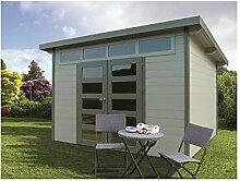 Solid Superia Gartenhaus Venezia Holz 270x 300x 235cm S8245