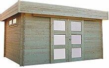Solid Superia Gartenhaus Viborg Holz 328x 418x 228cm s8994