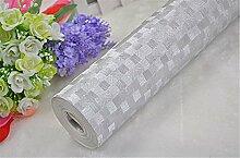 Solide Farbe Wasserdicht Engineering Dekoration Tapete Rolle für Wohnzimmer Schlafzimmer TV Hintergrund Esszimmer Tapete 0,53m (52,8cm) * 10Mio. (32,8') M = 5.3sqm (M³), Mosaic, 0.53M*10M
