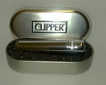 Solide Metall Flint Zündung Clipper Feuerzeug,