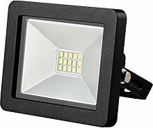 Solight A+, LED-Außenleuchte Slim, 10W, 700lm, Lichttemperatur 3000K, schwarz, Aluminium, 10 watts, Black, 7 x 3.5 x 7.5 cm