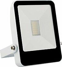 Solight A+, LED-Außenleuchte Style, 20W, 1400lm, Lichttemperatur 4000K, weiß, Aluminium, 20 watts, Black/White, 11.5 x 2.5 x 18 cm