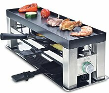 Solis Grill 4 in 1, Raclette/ Tischgrill/ Wok/