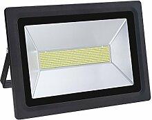 Solla® 150W LED Flutlicht Fluter 230V Außenleuchte, 12900Lumen, Kaltweiß, 6000 K, IP65 Wasserfest, LED Scheinwerfer Außenleuchten