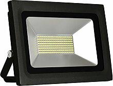 Solla® 60W LED Flutlicht Fluter 230V Außenleuchte, 4800Lumen, Kaltweiß, 6000 K, IP65 Wasserfest, LED Scheinwerfer Außenleuchten
