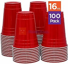 SOLO Cup Company P16-100 Partybecher, Kunststoff,