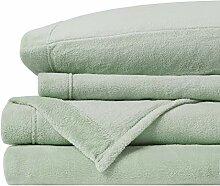 Soloft Plüsch-Bettwäsche-Set für