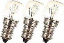 SOLUSTRE 3 Stück Mikrowelle Glühbirnen 15 Watt